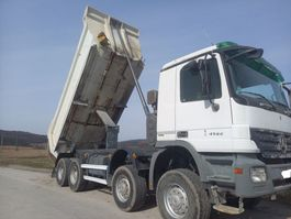 LKW Kipper > 7.5 t Mercedes-Benz Actros 4144 8x8 year 2010