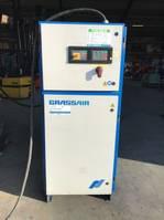 compressors Grassair S128.10 45 kW 6100 L / min 10 Bar Silent Elektrische Schroefcompressor 2001