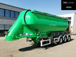 tank semi trailer semi trailer Feldbinder EUT 37.3 / 7315/A/2 - 37m3 /Lenkachse/Alu-Felgen