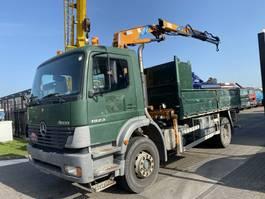 tipper truck > 7.5 t Mercedes-Benz ATEGO 1923 4X2 MANUAL FULL STEEL + EFFER 10600 2S 2002