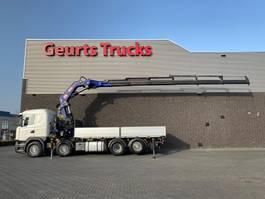 crane truck Scania G450 8X2 + PM 65026 SP KRAAN/KRAN/CRANE/GRUA 2017