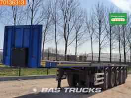 Plattform Auflieger Bertoja 87.000 GVW Ballast trailer 2005