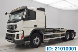 container truck Volvo FMX 410 - 6x4 2012