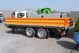 tipper trailer Humbaur HTK 105024 - DRIEZIJDIGE KIPPER MET RAMPEN - 7.270 KG LAADVERMOGEN