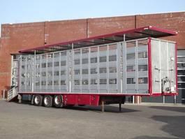 Viehauflieger Menke-Janzen 4 Stock Livestock trailer 2006