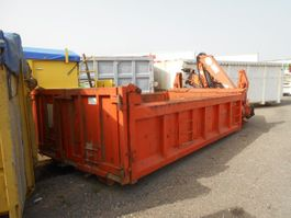 container system equipment part benne ampliroll + grue 2000