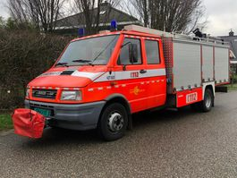 fire truck Iveco 59.12D Brandweerwagen / Feuerwehr Lier - nette staat! 1996