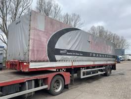 Planenauflieger Hertoghs 1 Assige trailer 1995