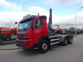 container truck Volvo FMX 450 6X4 EURO 5 / CONTAINERHOOK / KEURING !! 2013