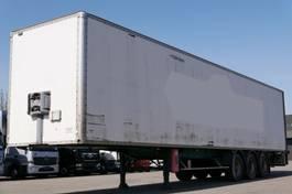 closed box semi trailer General Trailers TF 34 Koffer Rolltor Luftfederung 2002