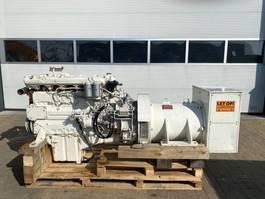 generator MAN 2866 TE Leroy Somer 230 kVA generatorset 1992