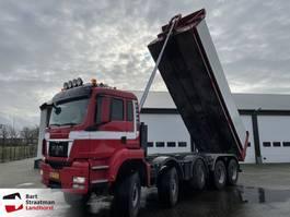 tipper truck > 7.5 t MAN 49.440 10x8 euro 5 2010