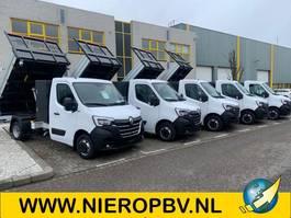 Pritschenwagen offen Renault Master 8x OP VOORRAAD Renault Master Kipper 145PK AIRCO NAVI CRUISECONTROL 2021