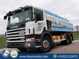 tank truck Scania P114 19000 l fuel 2001