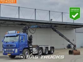 Container-LKW Terberg FM 1850 -T 8X4 Crane Palfinger 18 Ton/Meter Z-Crane Big-Axle 2004