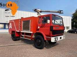 fire truck Renault Sides Fire Truck 4x4 1983