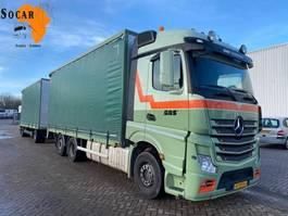 closed box truck Mercedes-Benz Actros 2642 6X2 Combination (+ GS MEPPEL HANGER) TRANSPORT FOR -> : Pluimvee / Geflügel / Chicken 2015