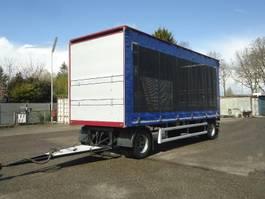 sliding curtain trailer GS AV-2000 2 As Schuifzeilen en Hefdak Kippertransport aanhanger 2013