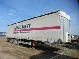 tilt semi trailer Fliegl Gardine Standard, Alu Felgen, 12642 XL 2012