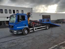 car transporter truck MAN TGL 12.250 depanneur Schuifplateau euro5 2013