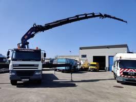drop side truck DAF CF 85.430 FAD 8X4 + PM 80SPCE + JIB JI204 2005