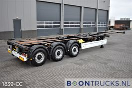 container chassis semi trailer Krone SD | 2x20-30-40-45ft HC * DISC BRAKES * EXTENDABLE REAR 2013