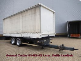drop side full trailer General Trailers Wipkar Wisselbare Opbouw - I.c.m. Dufils Laadbak 2003