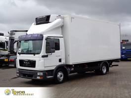 refrigerated truck MAN TGL 12.250 Euro 5 + Carrier Supra 550 + Dhollandia Lift 2011