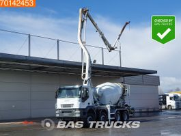 concrete pump truck Iveco Trakker 410 8X4 Pumi Big-Axle Steelsuspension Alcoa's Euro 4 2008