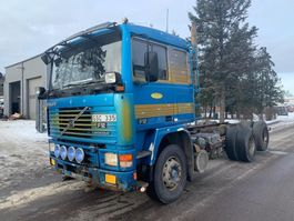 chassis cab truck Volvo F12 1991