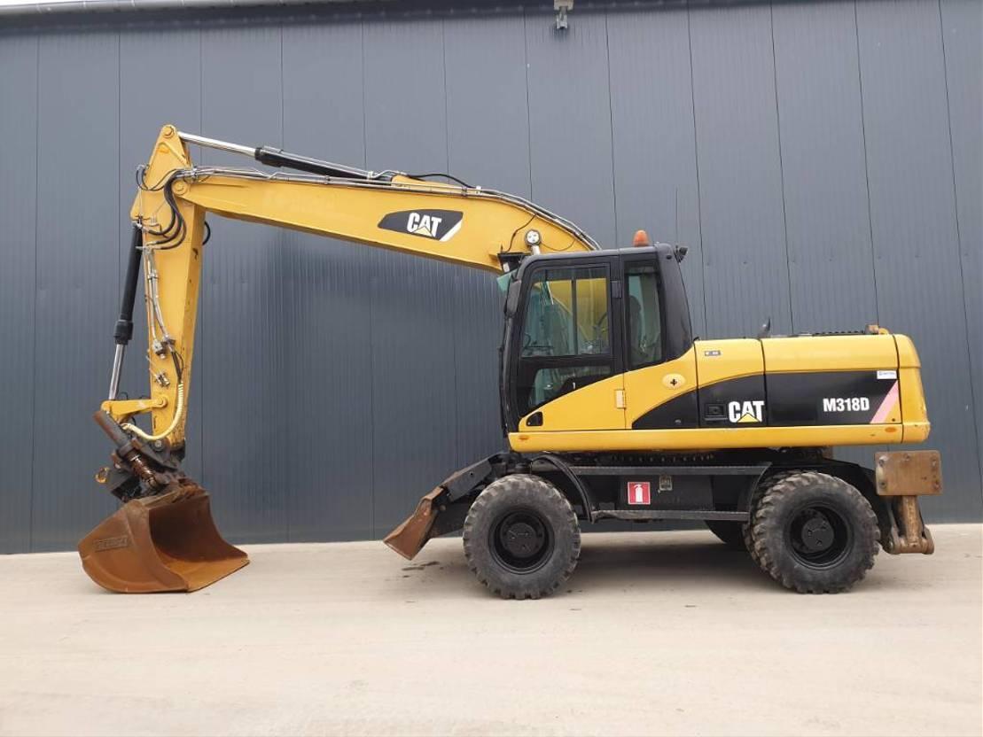wheeled excavator Caterpillar M318D 2008