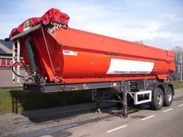 tipper semi trailer MOL STEEL TIPPER 22 m3    BPW AXLES+LIFT+HYDR.VALVE 2005