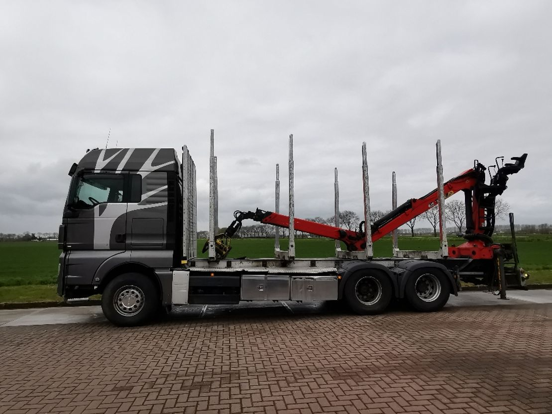 Holztransporter MAN TGX 26 epsilon m110l97 2012