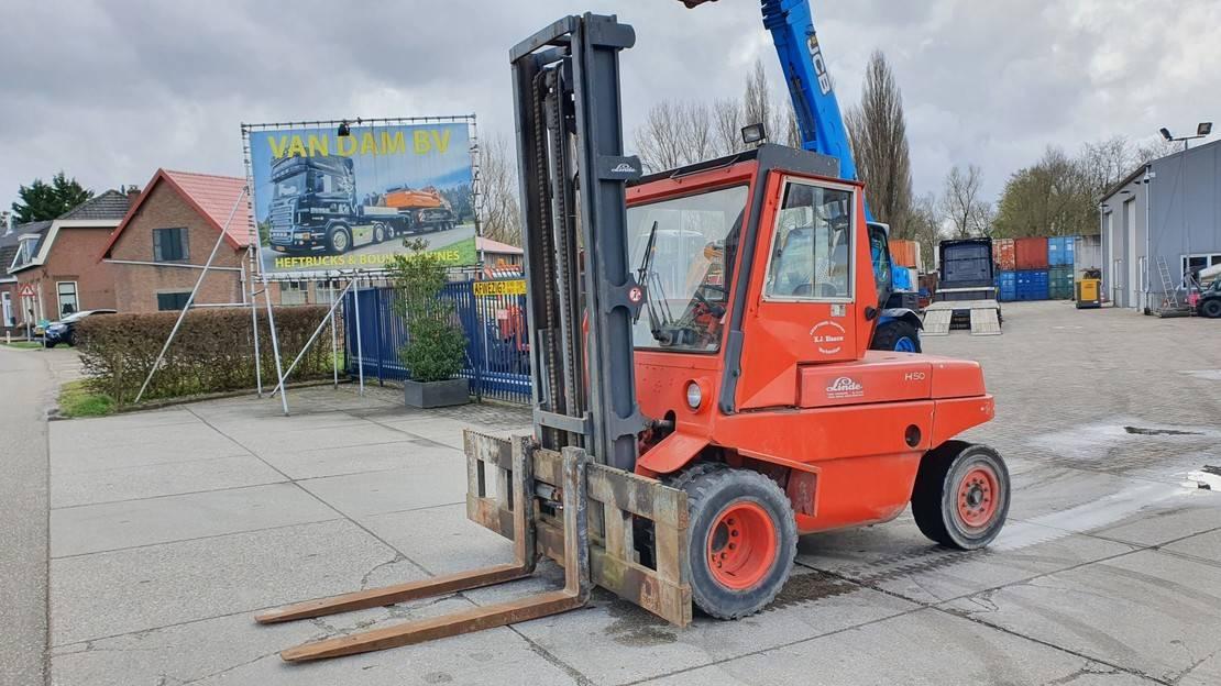 Gabelstapler Linde H50DW 5 ton diesel
