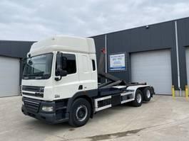 container truck DAF CF 85 CF85.410 HAAKSYSTEEM EURO5 2009