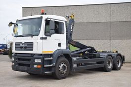 container truck MAN TGA 28.360  6X2 CONTAINER SYSTEEM- CONTAINER SISTEEM- CONTAINER HAAKSYSTEEM- SYSTEME CONTENEUR 2006