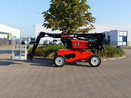 articulated boom lift wheeled Manitou Man'Go 12 2020