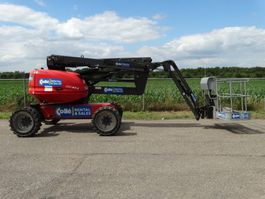articulated boom lift wheeled Manitou 160 ATJ 2015