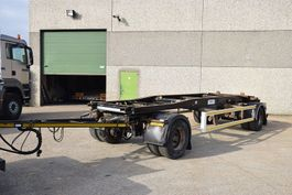 container chassis semi trailer WAF 2 ASSEN 2001