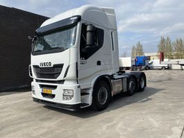 cab over engine Iveco STALIS 460 6X2 - HI-WAY LIFT+LENKACHSE - NAVI - EURO 6 - HOLLAND TRUCK 2015