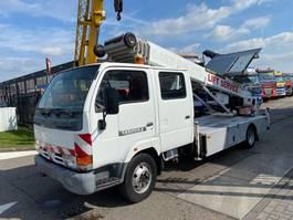 bucket truck lcv Nissan CABSTAR E 110 + KLAAS 29 METER LADDERLIFT 2000