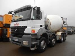 concrete mixer truck Mercedes-Benz Axor 2008