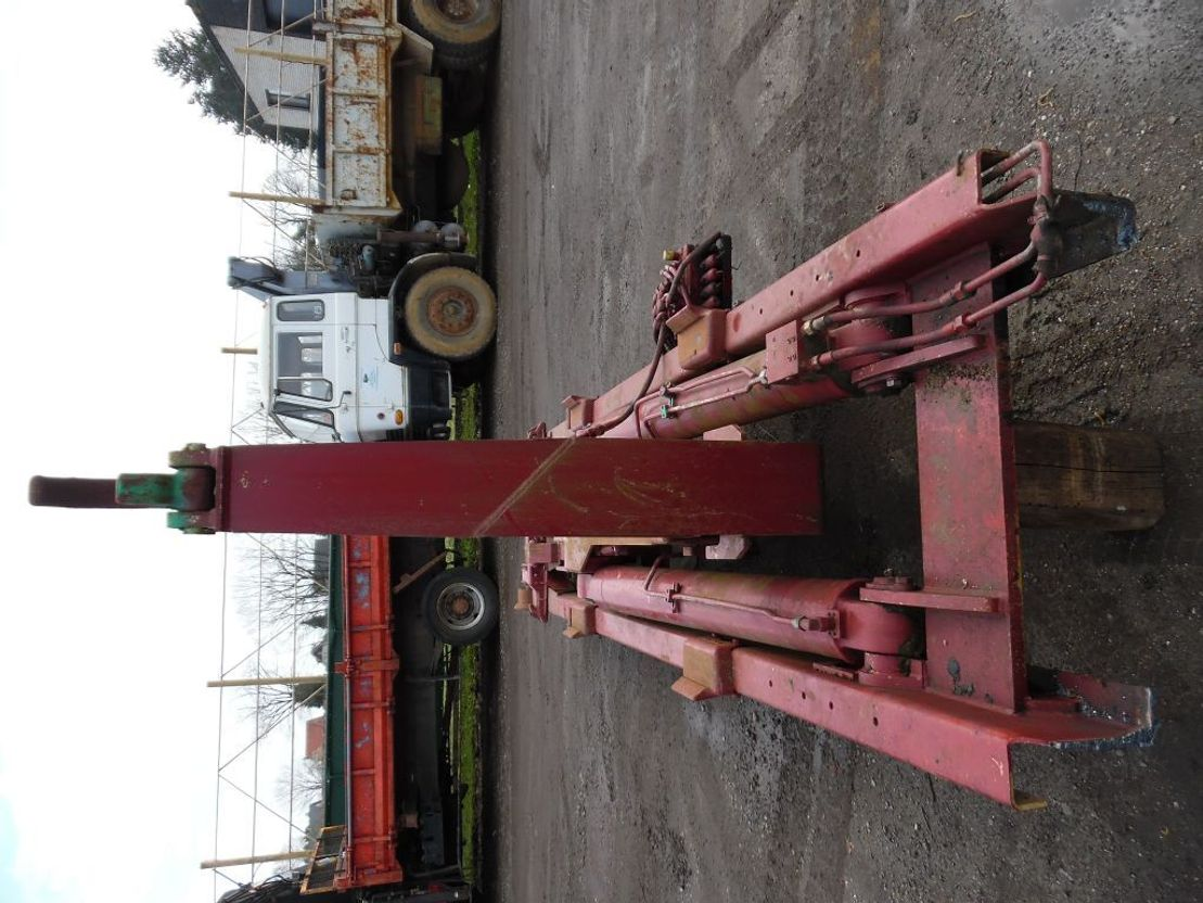 Container system truck part Marrel Hydrauliek containersysteem haakarm 1999