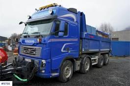 tipper truck > 7.5 t Volvo FH16-540 8x4 Snow rigged tipper truck. WATCH VIDEO 2012