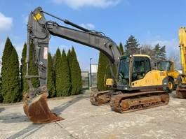 crawler excavator Volvo EC 160 C L 2008
