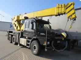 all terrain cranes Scania 142E, Crane Herculec RK80 - max 17,500kg 1986