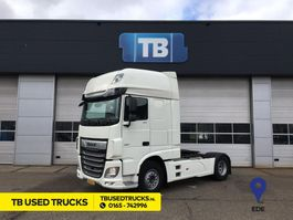 cab over engine DAF XF 480 FT Super Space Cab Skirts Fenders Spoilers MX Engine Brake Used Lease 2018