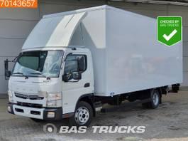 closed box truck Mitsubishi Fuso 7C18 4X2 Fuso 7C18 Manual Ladebordwand Euro 6 2017