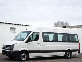 wheelchair transport lcv Volkswagen Crafter 2.0 Tdi Maxi 9 Sitze Rollstuhllift Klima Euro 5 2014