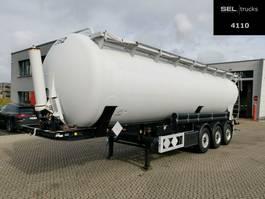 feed semi trailer Feldbinder KIP 52.3 / 52 m3 / Kippsilo / Alu-Felgen